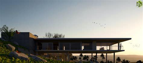 Modern Minimalist Eco House   Solo's art