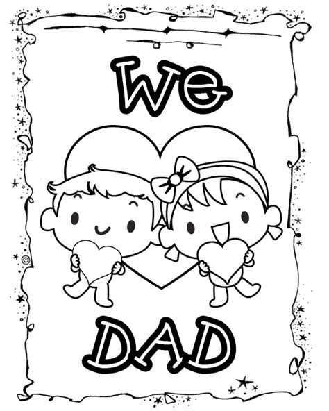 free i love you daddy coloring pages i love dad from kids free printable coloring pages