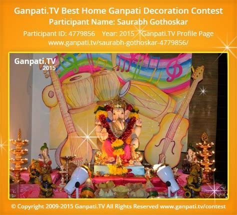 ganpati decoration ideas for home card boards saurabh gothoskar ganpati tv