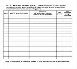 medication order form template doctor prescription templates 5 free documents