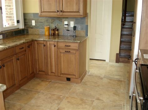porcelain tile kitchen floor small kitchen renovation ideas