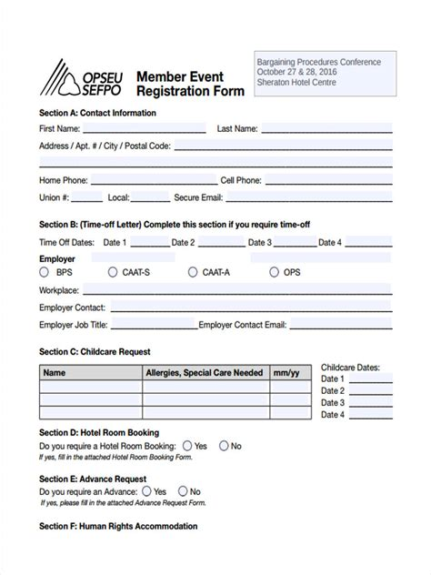 hotel registration form template 28 images hotel guest