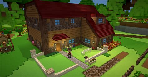 make your house staxel reporter issue 21 back from minecon village