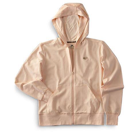 womens mossy oak sweatshirts s mossy oak 174 zip hoodie 169964 sweatshirts