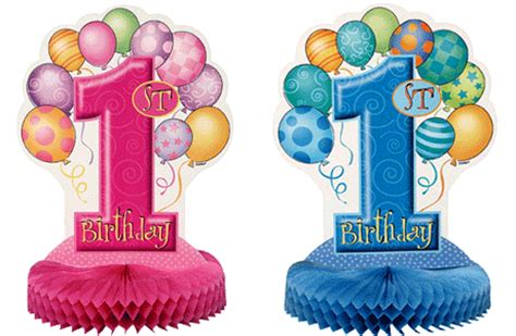 1st birthday decoration ideas at home first birthday table decorations partyrama co uk