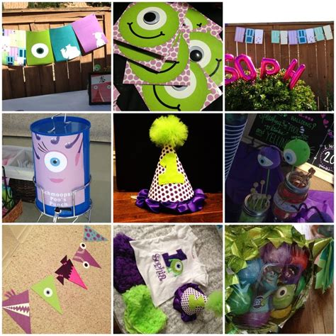 themes line monster inc 90 best images about monsters inc birthday party on