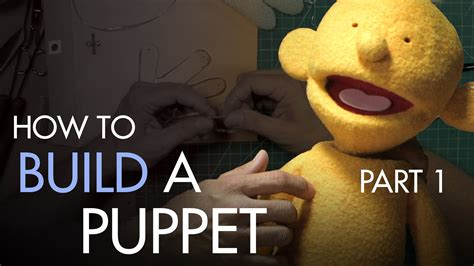 How To Make A Puppet Out Of A Paper Bag - how to build a and rod puppet part 1 understructure