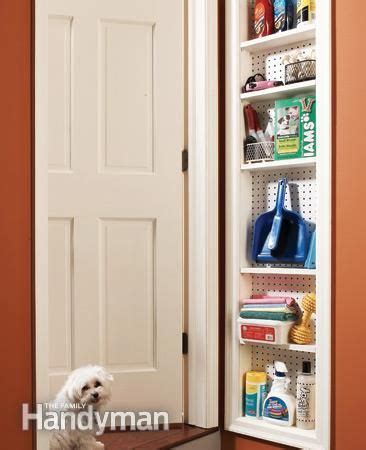 shallow closet solutions stud space shallow cabinet remove the drywall between