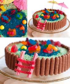 kinder kuchen einfach 50 amazing and easy cakes swimming pool cake