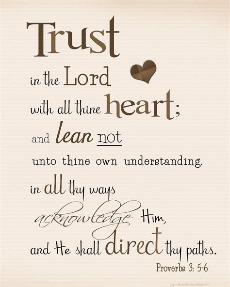 printable trust quotes trust inthe lord kjv trust in the lord quot proverbs