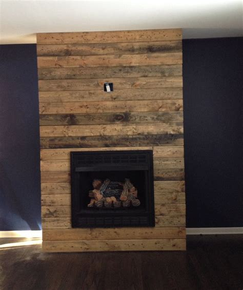 Basement Wall Ideas Not Drywall by 25 Best Ideas About Reclaimed Wood Fireplace On Pinterest