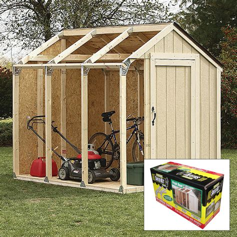 2x4 Shed Kit by 2x4 Basics Diy Shed Kit Peak Roof Style Kennesaw Cutlery