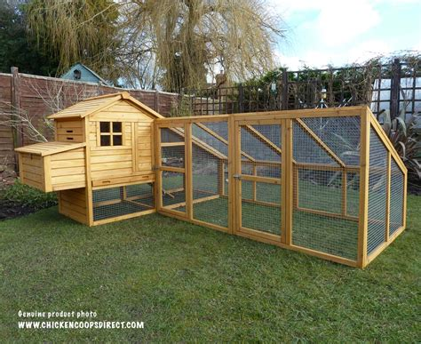 the chicken house sussex chicken coop with double run