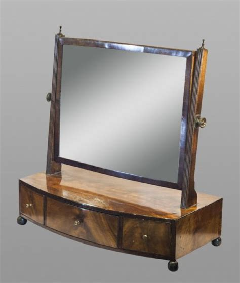 Dressing Table With Mirror And Drawers by Regency Mahogany Dressing Table Mirror With Drawers