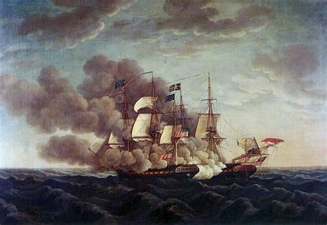 the naval war in uss constitution vs hms guerriere wikipedia