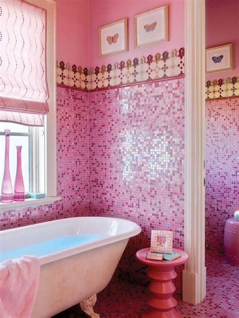 pink tile bathroom ideas 35 pink bathroom floor tiles ideas and pictures