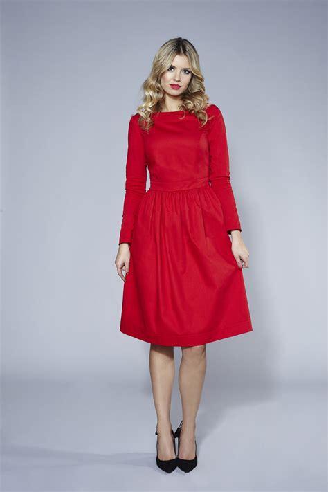 Midi Dress Blue Murah Murah czerwona sukienka baby blue midi swing fashion store