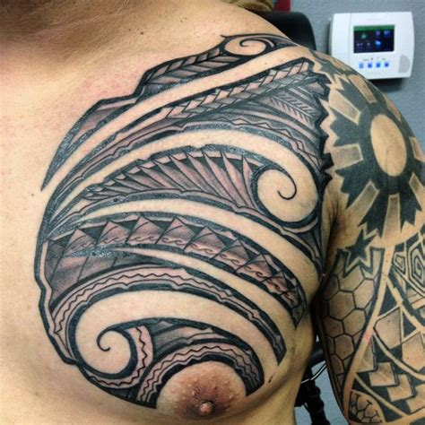 mens polynesian tattoo designs 60 hawaiian tattoos for traditional tribal ink ideas