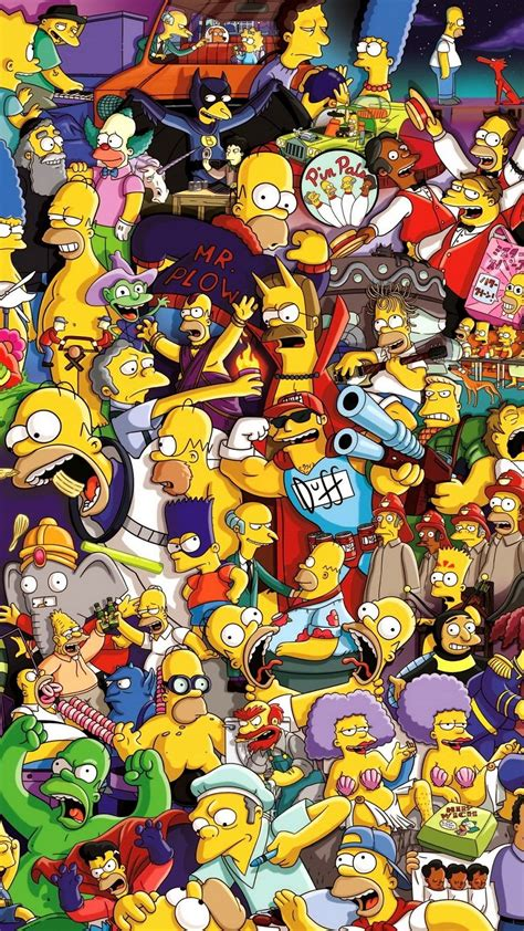 cartoon themes for iphone 6 the simpsons wallpapers iphone impremedia net