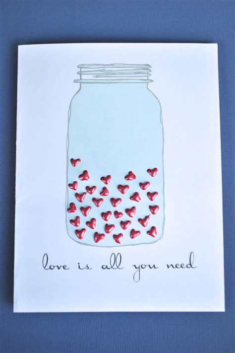 Handmade Valentines Cards - fashion wae cards