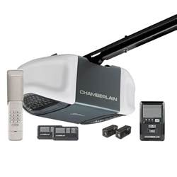 Chamberland Garage Door Chamberlain Whisper Drive 1 2 Hp Belt Drive Garage Door Opener With Myq Technology Wd832kev