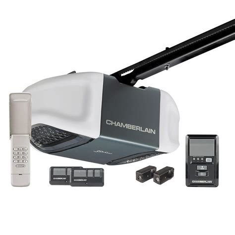 Chamberlain Overhead Doors Chamberlain Whisper Drive 1 2 Hp Belt Drive Garage Door Opener With Myq Technology Wd832kev