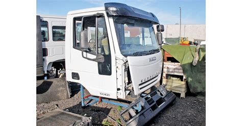Lu Emergency Atn iveco eurocargo cabs dismantling