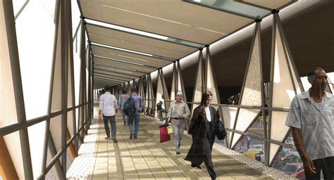 Google Jobs Resume Upload by The Pedestrian Skywalk At Delhi By Chaukor Studio