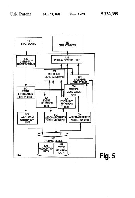 Calendar Contextual Images Patent Us5732399 Method And Apparatus For Associating