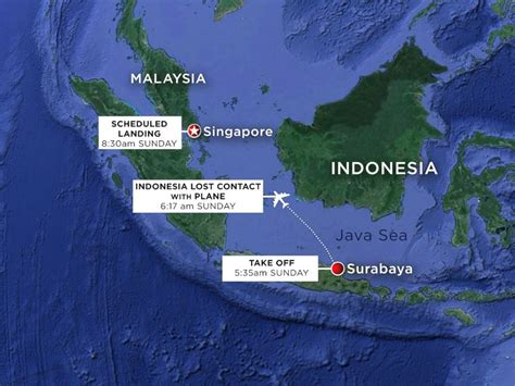 airasia latest news searchers suspect missing airasia jet is on ocean floor