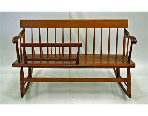 rocker bench windsor rocking quot mammy bench quot