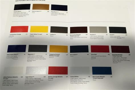 color for 2016 colors for the 2016 ford mustang leaked in facebook