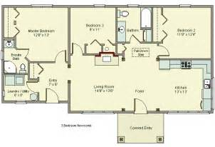 House Plans No Garage by Beautiful Popular 3 Bedroom House Plans In Kenya For Hall