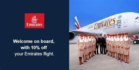 emirates airline code emirates promo code for 10 off all ex uk flights