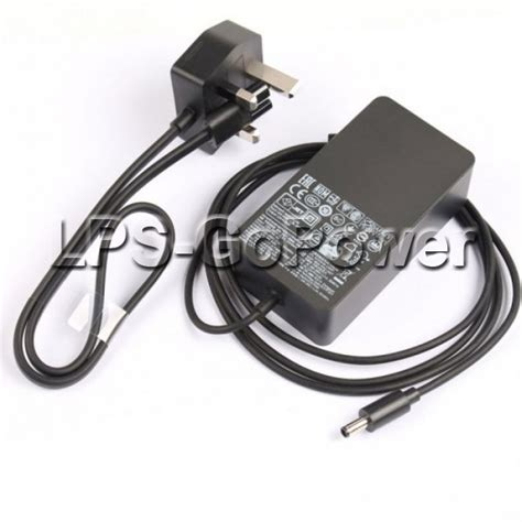 Charger Branded Mq 48w microsoft surface pro 3 mq2 00004 station ac adapter charger free power cord