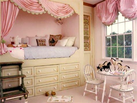 pretty girl beds creative storage below kids room loft beds