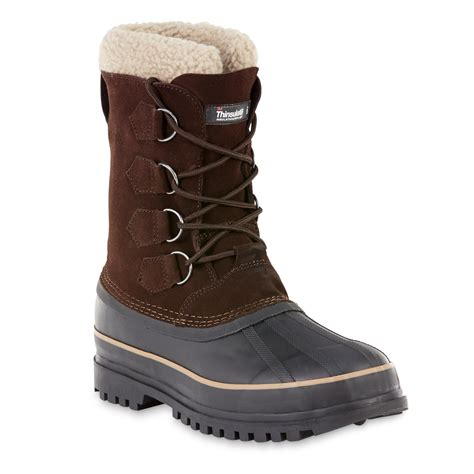 mens winter boots sears elk woods s yukon waterproof lace up winter boot