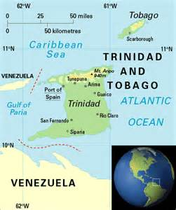 Where Is Trinidad And Tobago Located On The World Map by Welcome To Memespp Com