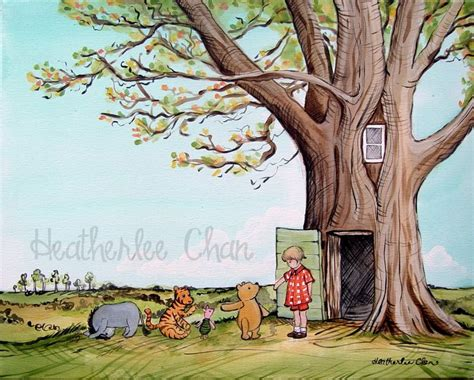 libro winnie the pooh a tree for lady poppins classic winnie the pooh by the treehouse my art disney lady and