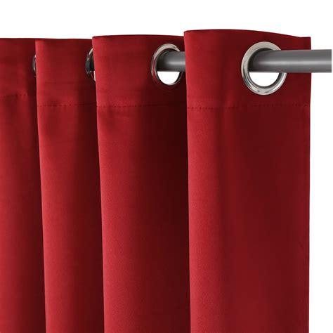 Fenster Sichtschutz Vorhang by 140x245cm Gardinen 214 Sen Rot Schal Vorhang Dekoschal