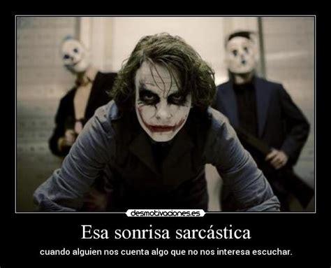 imagenes sarcasticas tristes esa sonrisa sarc 225 stica desmotivaciones