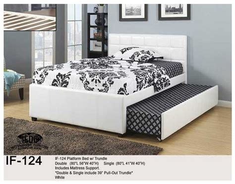queen bed with pull out bed underneath pull out bed home design