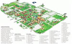 Oklahoma State University Campus Map by Campus Map Uco Visitor Guide