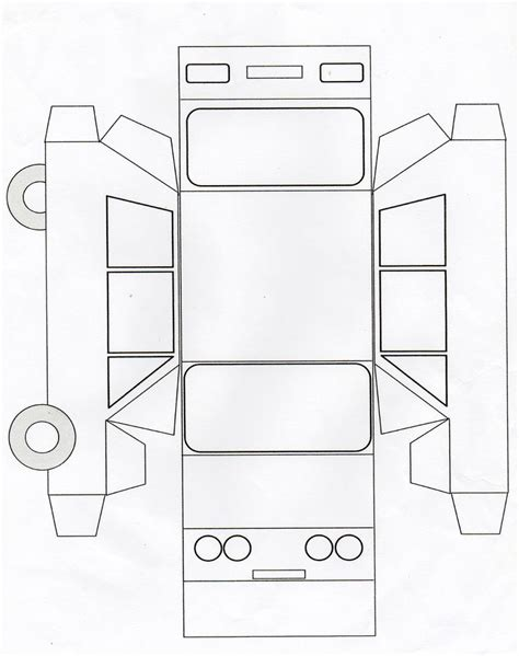 printable paper car template 17 best images about j 225 rművek on pinterest toilet paper