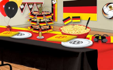German Decorations - german soccer decorations partycheap