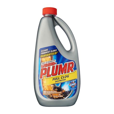 Clorox Pro Strength Liquid Plumr Power Gel Clog Remover 0   from RedMart