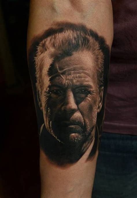 bruce willis tattoos by den yakovlev inspirational