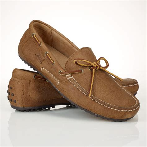 brown polo loafers polo ralph wyndings loafer in brown for