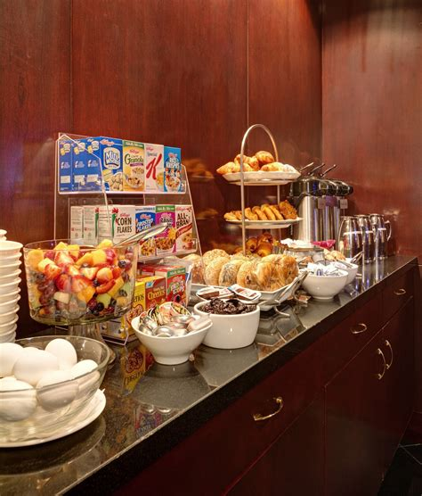 hotels with free breakfast buffet the library hotel nyc provides complimentary breakfast in