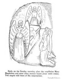 Printable religious coloring pages christian easter coloring pages